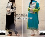 Maria B Eid Dresses Design Collection 2014 with Price for Women and Girls Long Kameez Shalwar Fashion PKR 3510 150x126 MARIA B Beautiful Fancy Eid Collection 2013 for Girls & Women