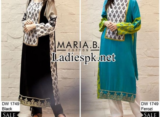 Maria B Eid Dresses Design Collection 2014 with Price for Women