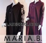 Maria B Kurta Summer Cotton Dresses Collection 2013 for Girls 150x142 New Maria B Designer Summer Shalwar Kameez Designs 2013