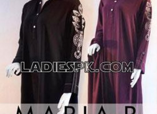 Maria B Cotton Kurta Designs for Girls
