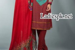 Mausummery Winter Dresses, Shawl Collection Prices 2014 2015