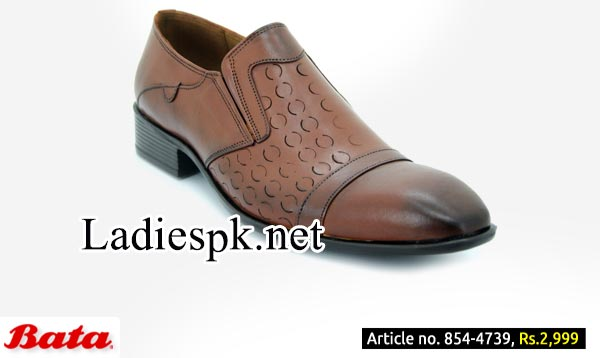 Men-Gents-Dress-Shoes-Bata-Shoes-With-Prices-Pakistan-Fall-Winter-Collection-2014-2015-Brown