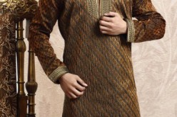 Latest Men Kurta Design for Mehndi