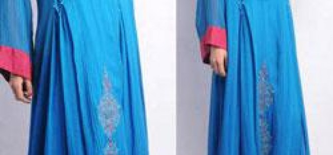 New Lon Frock Style in India & Pakistan
