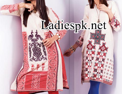 Nishat Linen Nisha Fall Winter Dresses Designs Collection 2014 2015 with Price for Women and Girls