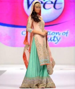 Nomi Ansari Bridal Collection 2015 Pics Wedding Dresses Lehenga Plazo Long Shirt