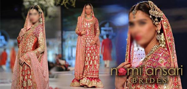 Nomi Ansari Bridal Collection 2015 Pics Wedding Dresses Pakistani