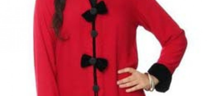 Long Kurta Style for Girls, Female Red Kurtas
