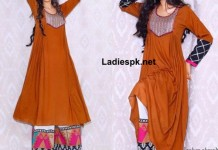 Plazo Design 2014 2015 in Pakistan for Girls and Women-Palazzo-Dresses Frock