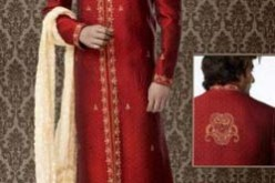 Indian Red Wedding Sherwani Designs for Men