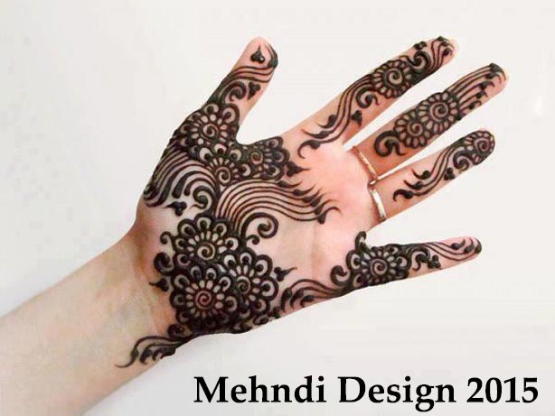 Simple Arabic Bridal Mehndi Designs for Hands 2015 2014 Images Facebook Pakistani Indian Bangladeshi