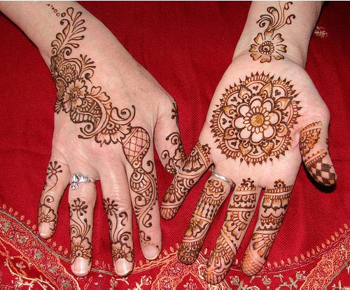 Simple Arabic Mehndi Designs for Hands 2015 India Pakistan Bangladesh
