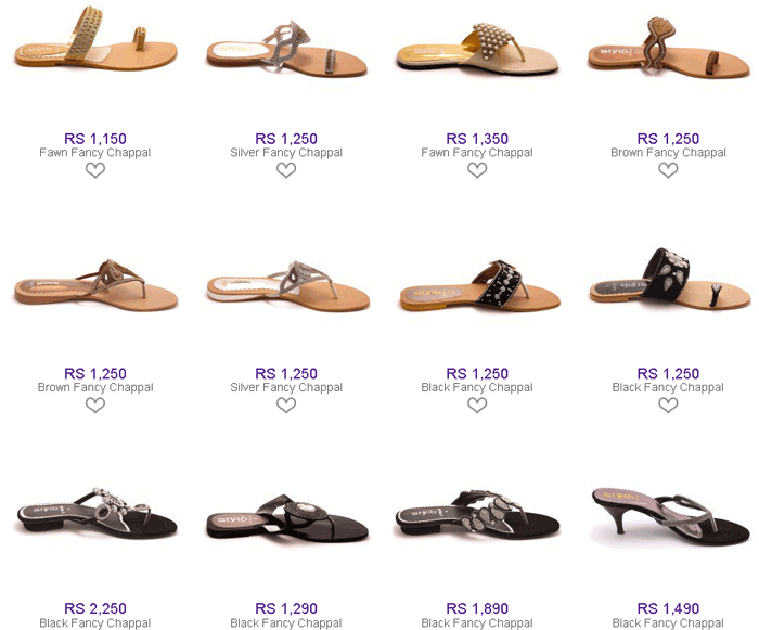 Stylo-Shoes-Winter-Collection-2014-with-Price-flat-Fancy-Slippers-Chappal-for-women-and-Girls-2015