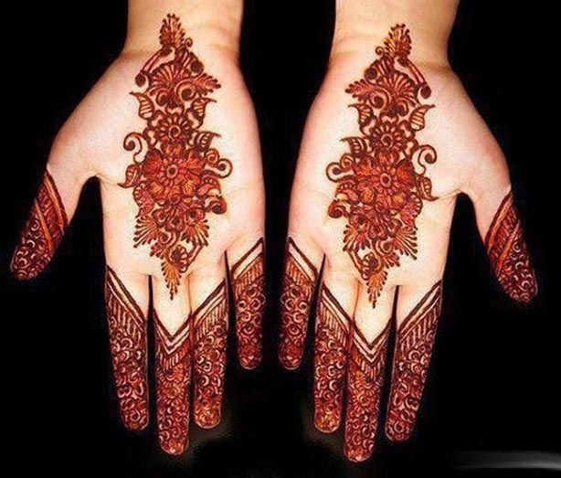 Top Simple Arabic Mehndi Designs 2015 for Hands Indian Mehndi-Design-Collection