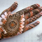 Top Simple Arabic Mehndi Designs 2015 for Hands in India