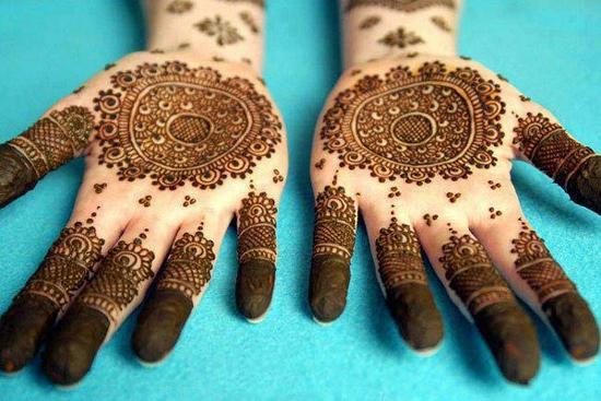 Top Simple Arabic Mehndi Designs 2015 for Hands