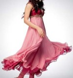 Umbrella Frocks 2013 Style Designs India 150x159 Long Umbrella Frock Style for Girls 2013   Junaid Jamshed
