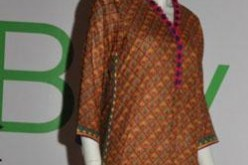 New Lawn Kurta Design For Women & Girls 2013