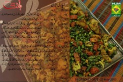 Achari Sabzi Recipe in Urdu, English by Handi Masala TV