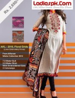 alkaram studio lawn linen collection 2013 prices long shirt choori pajama summer 150x195 Al Karam Summer Lawn Prints Collection 2013 with Prices