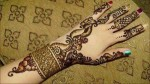 arabic bridal hand mehndi designs for hands 2013 150x84 Arabic Mehndi Designs for Fingers