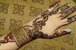 Beautiful Indian Bridal Hand Mehndi Designs Images 2013 Pics