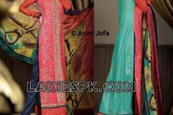 Asim Jofa Lawn 2013 Long Shirts for Girls