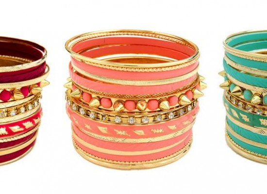 Beautiful Colourful Bangles Eid 2013 Design with Price