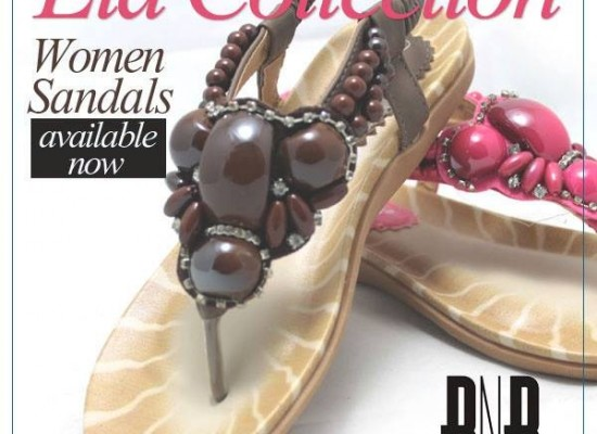 New Eid 2013 Flat Sandals for Girls & Women by BNB Accessories