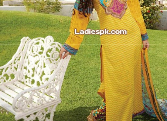 Bonanza Eid Collection 2013 Lawn: Women's Shalwar Kameez