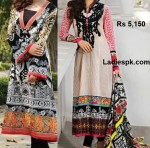 bonanza lawn 2013 designs long shirts choori pajama summer 150x148 Al Karam Summer Lawn Prints Collection 2013 with Prices