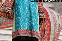 Buy Online Bonanza Lawn Long Shirt Choori Pajama 2013 Price