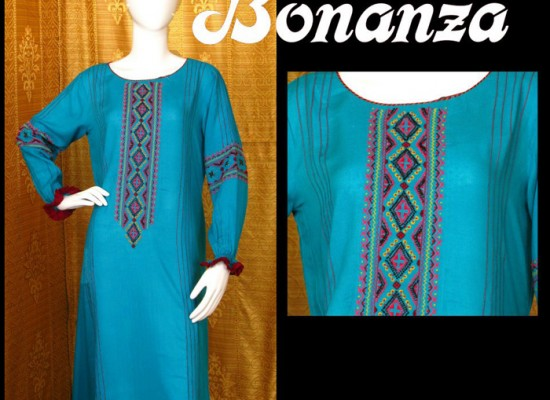 Bonanza New Arrivals Dresses Winter Collection 2013 2014 Price