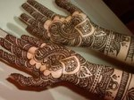 bridal mehndi designs for hands 2013 Indian 150x112 Arabic Mehndi Designs for Fingers