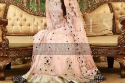 Anarkali Frocks 2014 2015 For Brides Wedding Walima India