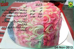 Butter Cream Rosette Recipe Urdu English Rida Aftab MasalaTV
