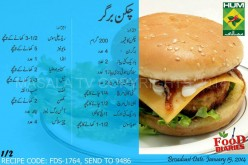 Chicken Burgers Recipe in Urdu & English by  Masala TV
