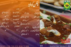 Chicken Kofta Recipe in Urdu English Rida Aftab Masala TV