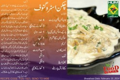 Chicken Stroganoff Recipe in Urdu English Zarnak Masala TV