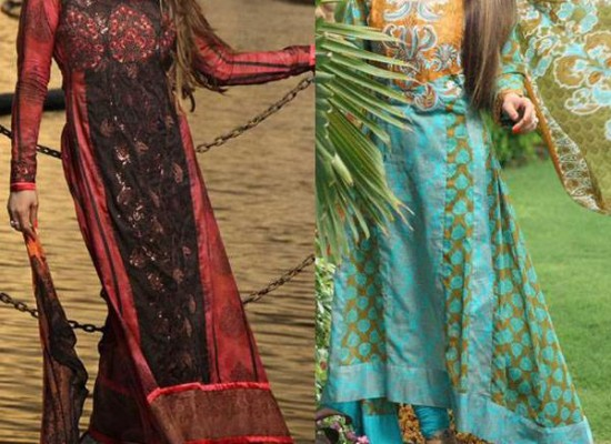 Deeba Lawn Summer Collection 2013 with Prices by Shariq Textiles