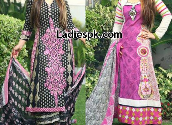 Deeba Lawn Collection 2013 with Prices by Shariq Textiles