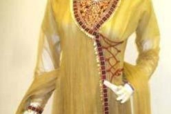 Designs of Angrakha Style Ladies Suits in India Pakistan