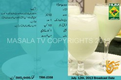Doodh Soda Recipe Ramzan Summer Drink for Iftar Masala TV