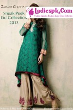 eid exhibition 2013 zainab chottani eid collection 2013 150x226 Tail Gown Dresses Style in Pakistan