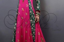 Latest Fancy Party Wear Frocks Designs 2014 for Girls