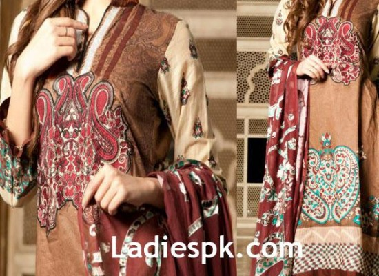 Firdous Lawn 2013 Kurta for Women