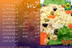 Fish Salad Recipe in Urdu English Rida Aftab Masala TV