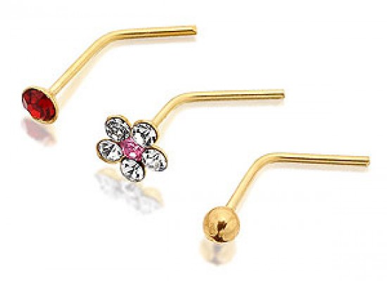 Nose Pin Designs 2013 for Girls and Ladies