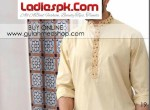 gul ahmed kurta designs for men 2013 cotton shalwar kameez 150x110 Nishat Naqsh Piping Kurta Shalwar Kameez Design 2013