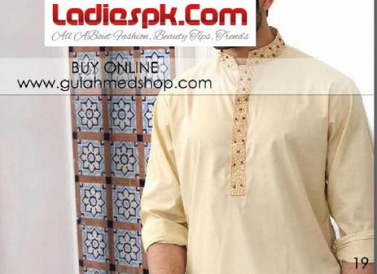 Gul Ahmed Kurta Designs for Men